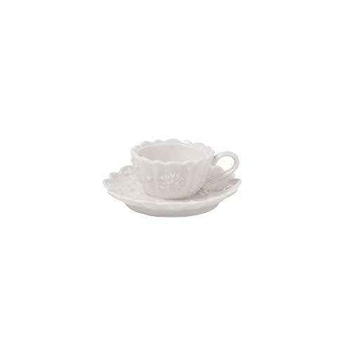 Villeroy & Boch Toys Delight Royal Classic Decoration Teelichthalter Kaffeetasse, Premium Porcelain, weiß, 23,5 cm / 0,33 l