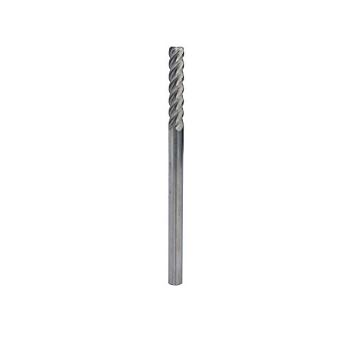 HFS (R) Extra Long Solid Carbide End Mill, 4 Flute, 1/4