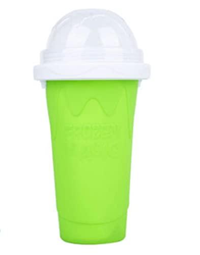 Taza para batidos congelados rápidamente Máquina para hacer granizados y batidos casera Taza de enfriamiento rápido para el hogar Máquina para hacer helados Magic Slushy Maker-301-400ml, A-05