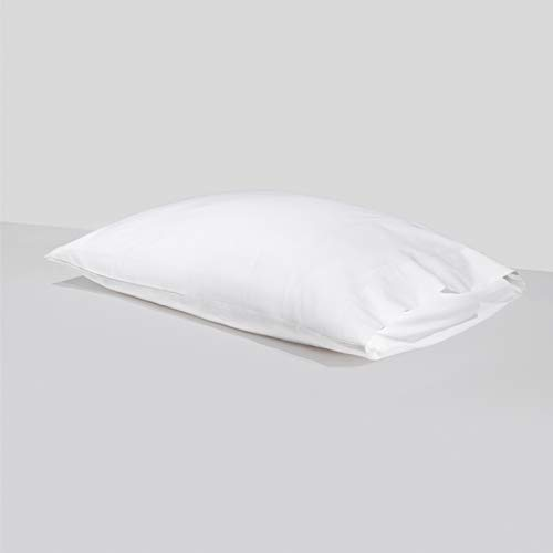 Silvon Anti-Acne Silver Infused Pillowcase | Woven with Pure Silver and Premium Breathable Supima Cotton | Antimicrobial, Ultra Soft & Hypoallergenic (Standard, White)