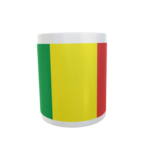 U24 Tasse Kaffeebecher Mug Cup Flagge Mali
