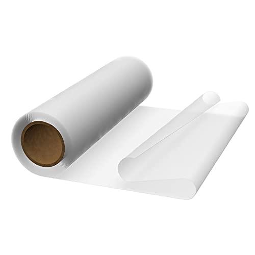 Vispronet transparente Folie klar 1,4 x 5 m, Stärke 0,3 mm, als transparente Tischdecke, Schutzfolie, Gartenfolie UVM