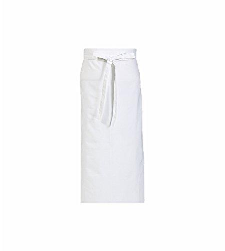 CaptainWorkwear 5er Set Vorbinder für Damen und Herren - Arbeitsschürze 80x100cm in weiß