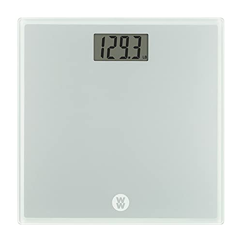 Weight Watchers by Conair Scales by Conair Digital Glass Bathroom Scale 400 Lbs. Capacity WW510X