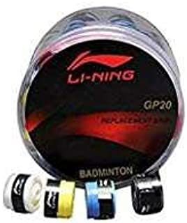 Li-ning Badminton Grip GP20 (Pack of 4 Grips) - Colors May Vary