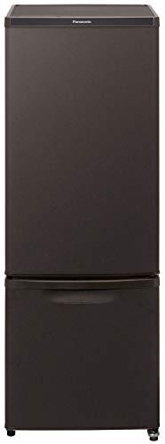 パナソニック 冷蔵庫 2ドア 168L 自動霜取り マットビターブラウン NR-B17DW-T