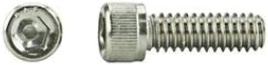product image for M3 x 0.5 x 10mm Hex Socket Cap Screw - A2-70 Stainless Steel - UNC - DIN 912 - USA - Pkg of 100