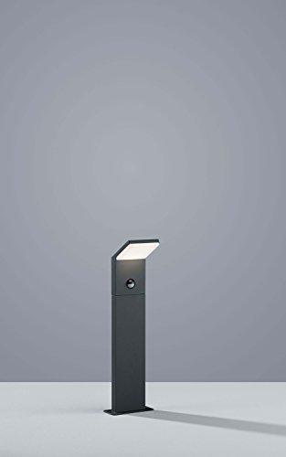 Trio Leuchten LED Außenleuchte Pearl 521169142, Druckguss Aluminium anthrazit, 1x 9 Watt