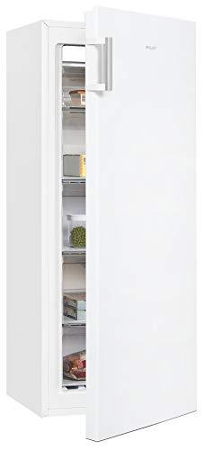 Exquisit Gefrierschrank GS271-NF-H-010E weiss | Standgerät | 186 l Volumen | Weiß