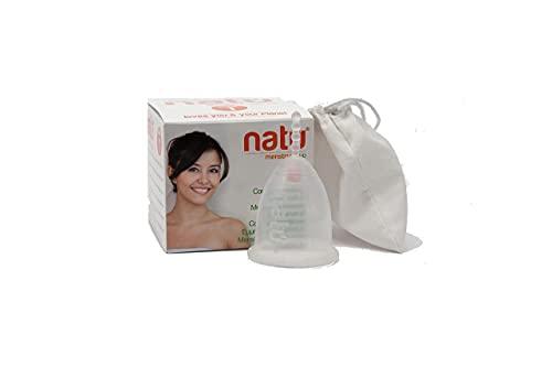 Greenproject - Natú Mestrual Cup - Made in Italy, ecologia, in Silicone medicale platinico - Taglia 1