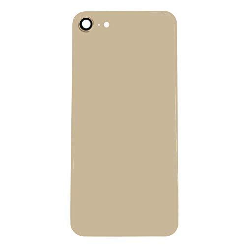 UU FIX Copri Batteria Back Cover per iPhone 8 A1863(Oro) Posteriore Battery Door Ricambio con Il Kit degli Attrezzi.
