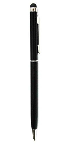 C63® Zwart [2 IN 1] Touch Screen Stylus en Schrijven Biro Pen. Dual Function Stylus