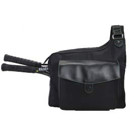 Cortiglia Black Sport Messenger Bag