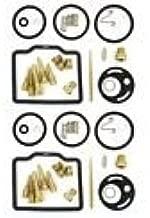Set of 2 - Carburetor Rebuild Kits - Compatible with Honda CB175 Super Sport CL175 Scrambler - 1968-1973 - Jets Gaskets Needles