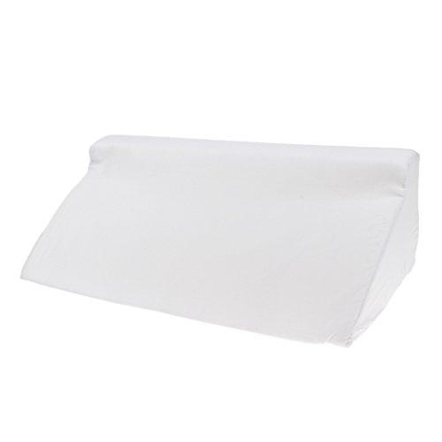 MagiDeal Keilkissen, Rückenstütze für Bett, Couch, Fernsehen und Tablet Relaxkissen, Lesekissen, Größe 24cm x 50cm Höhe 15cm