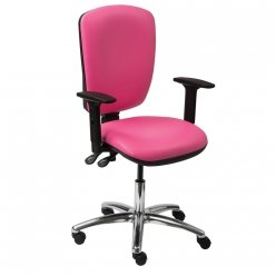 Skye Nurses Station Chair - Reposabrazos fijos con respaldo alto (CA3145)