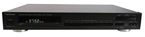 Technics ST-610 AM/FM Stereo Tuner in schwarz