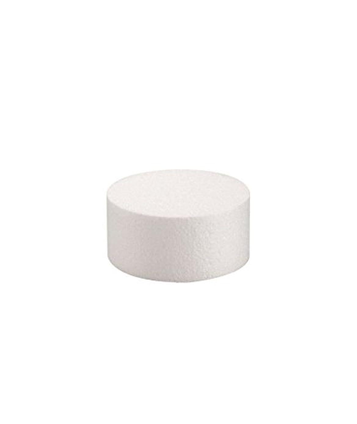 Glorex 3803?771?6?Styrofoam Disc, 5?x 8?x 4?cm?–?White
