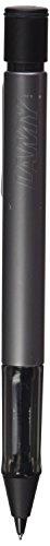 LAMY AL-star Druckbleistift 126 – Bleistift aus eloxiertem Aluminium in der Farbe Graphite mit transparentem Griffstück und Radiertip – mit 0,7mm Feinstrichmine (LAMY M 40)
