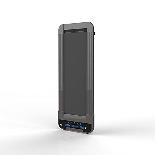 Afang Motor de caminadora, máquina eléctrica para caminar de velocidad ajustable pantalla LCD contador de calorías ultra delgado instalación en casa oficina libre Fitness Equipmen