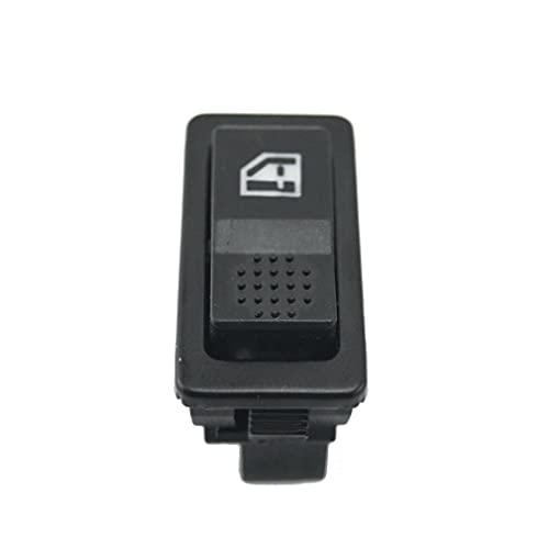 Relés Interruptor de ventana de potencia de un solo coche de 12V 24V 5V con accesorios para automóviles universales Interruptores de coche (Color : Black)