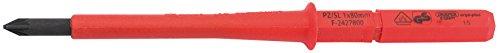 Draper Ergo Plus & # 174 ; PZ/SL type de lame de tournevis VDE interchangeable No : 1 x 8
