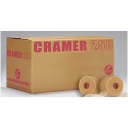 "Cramer Tape Underwrap, Bulk Case of 48 Rolls of PreWrap for Athletic Taping, Hair Tie, Headband, Patellar Support, Pre-Wrap Athletic Tape Supplies, 2.75"" X 30 Yard Rolls of Pre Wrap, Beige"
