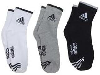 Adidas Multicolour Cotton Ankle Length Socks for Men - Pack of 3