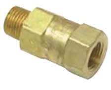 """Clippard MJCV-1AB Check Valve, 1/8"""" Ports Arrow on Valve Body Indicates Direction of Flow(Female-to-Male) by Clippard"""