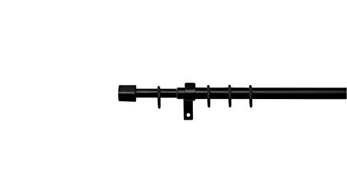 70-120 cm blanc Tringle /à rideau t/élescopique /à ressort Gemini /_ Mall/® 40-75cm