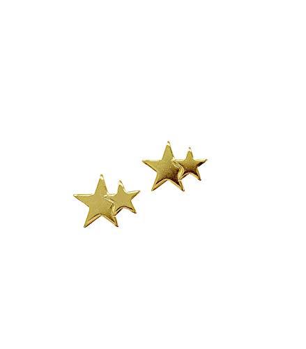 bell la bell(ベルラベル) シューピアス 2個セット シューアクセサリー かわいい - 02星ゴールド
