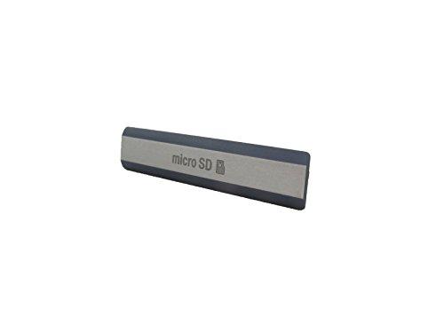 Sony Xperia Z2 LT50w (D6502, D6503, D6543) Speicherkarten Abdeckung, Micro SD Port Cover, Schwarz, Black