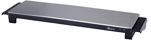Hostess HT6020 Cordless Hot Tray, Stainless Steel, 800 W, Silver
