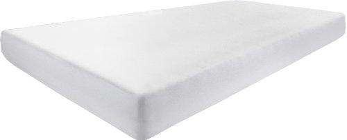 Dormisette Q304 stretch-molton hoeslaken, 120/190 cm tot 140/210 cm, voor matrashoogtes tot ca. 30 cm hoogte, wit