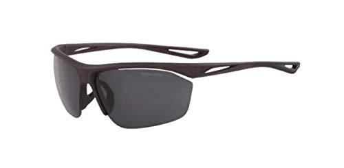 NIKE Herren Sonnenbrille Tailwind S, Mattgrau mit dunkelgrauen Gläsern