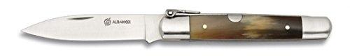 M.ALBAINOX - Navaja machete nº00.asta toro.hoja: 7 cm