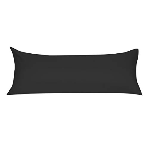 uxcell Soft Microfiber Body Pillow Cover with Zipper...