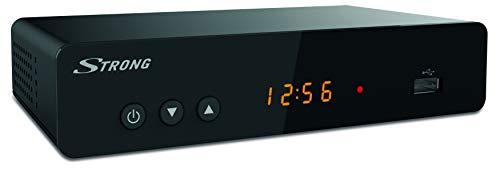STRONG SRT8222 Décodeur Double Tuners TNT Full HD -DVB-T2 - Compatible HEVC265 - Récepteur/Tuner...