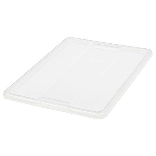 IKEA.. 701.103.02 Samla Tapa para Caja, 12/17 galones, Transparente