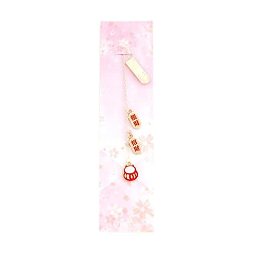 1 Pz Segnalibro in metallo Kawaii Ciondolo Notebook Decorazione Semplice ed elegante Segnalibri Segnapagina Regalo per adulti Bambini Amici Famiglia Materiale scolastico Cancelleria