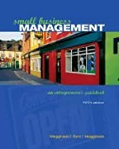 Small Business Management An Entrepreneurs Guidebook, 5TH EDITION