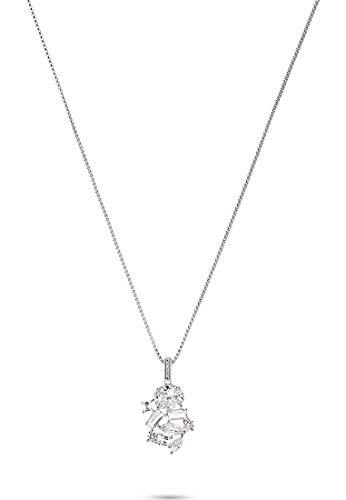 JETTE Silver Damen-Kette 925er Silber 28 Zirkonia One Size 88033434