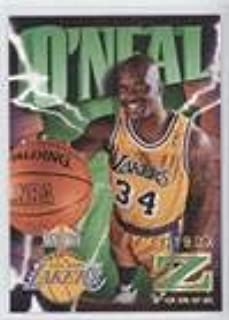 Shaquille O'Neal (Basketball Card) 1996-97 Skybox Z Force - [Base] - Z-Cling #64