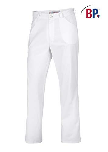 BP 1651 686 unisex jeans van gemengde stof met stretch-aandeel wit, maat Mn