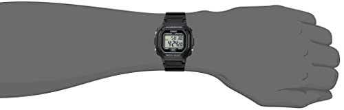 Casio watches Casio Men's F108WH Illuminator Collection Black Resin Strap Digital Watch