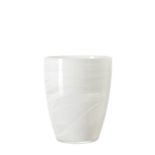 Leonardo 031087 Windlicht Alabastro 19 cm, weiß