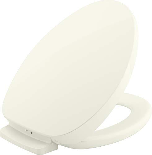 Kohler K-10349-96 Purewarmth Toilet Seat, Elongated, Biscuit
