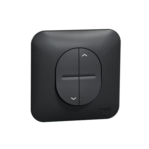Ovalis - Interruptor volet-enrollable - Bloqueo meca entre arriba y abajo - anth