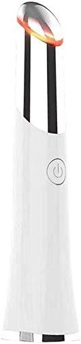 Aaedrag 42 ℃ Ionic Augen Gesichtsmassager-Roller mit beheiztem Sonic Vibration Relieving dunkle Ringe Fatigue Puffiness Anti-Aging-Vorrichtung Anti-Falten-AugeMassager USB aufladbare Schönheit