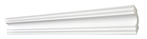 Decosa Moulure A50 50 x 50 mm longueur 2 m Sonja PRIX SPECIAL LOT de 5 pi/èces